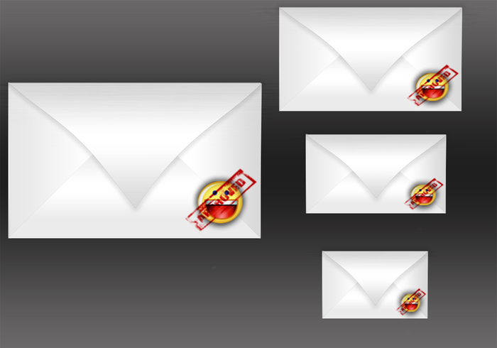 Realistic Yahoo Mail PSD