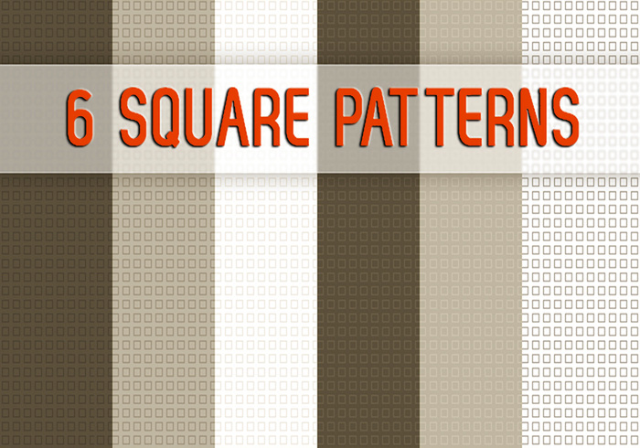 6 Square Patterns