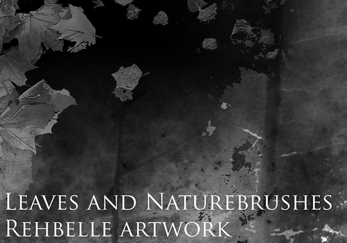 Leaves and Nature Brushes