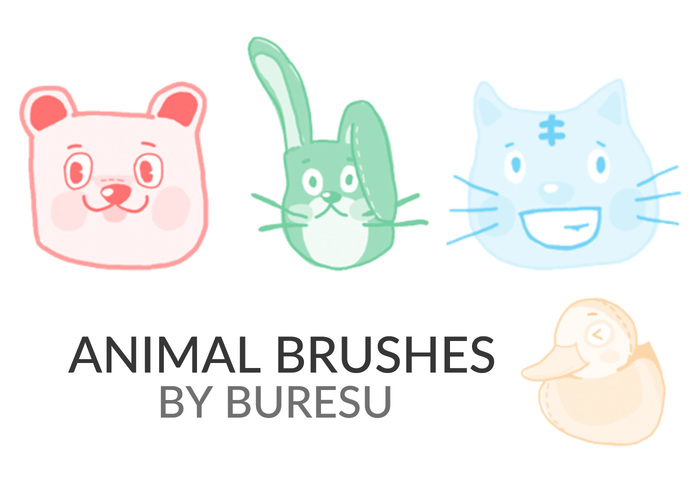 Animal Brushes