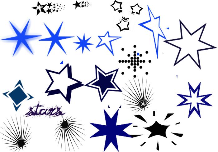 Pinceles de estrellas