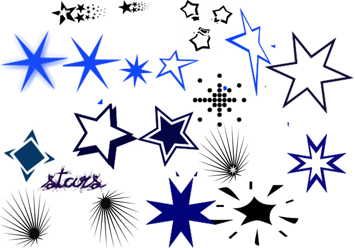 Sterne bürsten