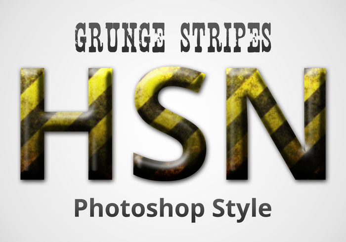 Grunge Stripes Style
