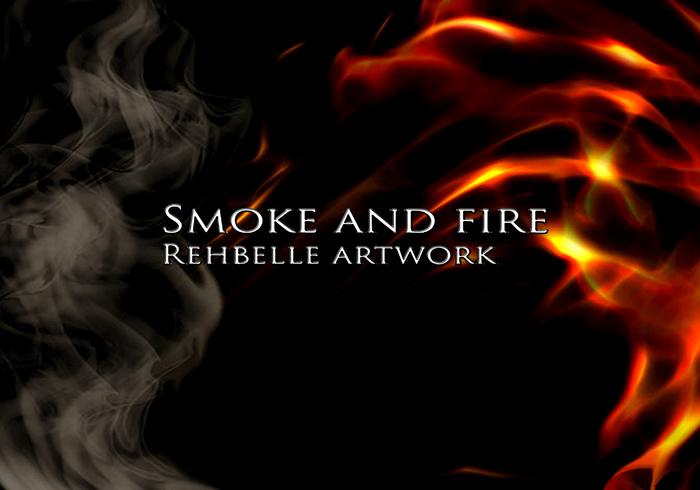 Rauch und Feuer -Rehbelle