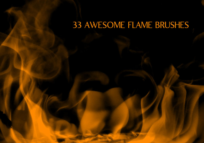 33 Flames Brushes