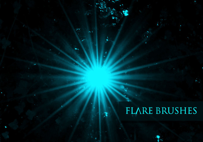 Flare Brushes - Space Channel 6