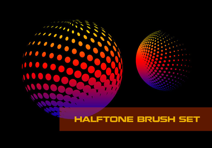 Halftone Brush Pack