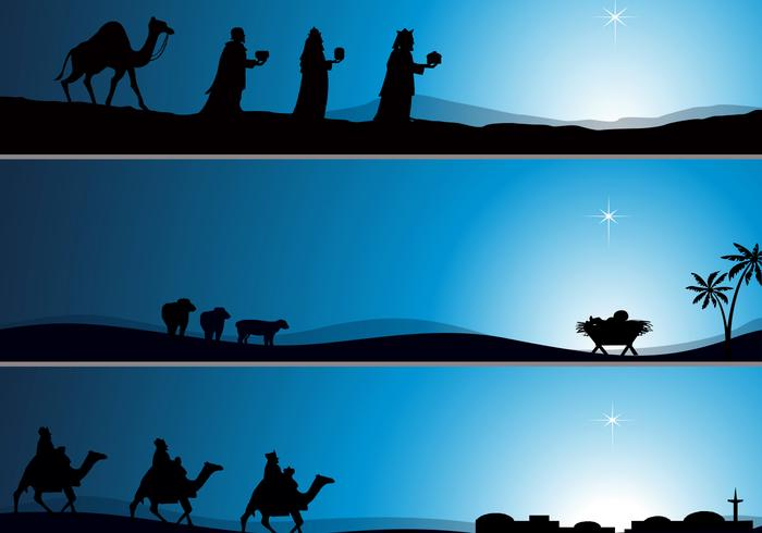 Nativity wallpaper psd pack