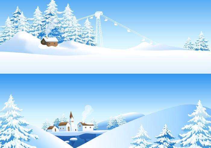 Winter Landscape Wallpaper Pack