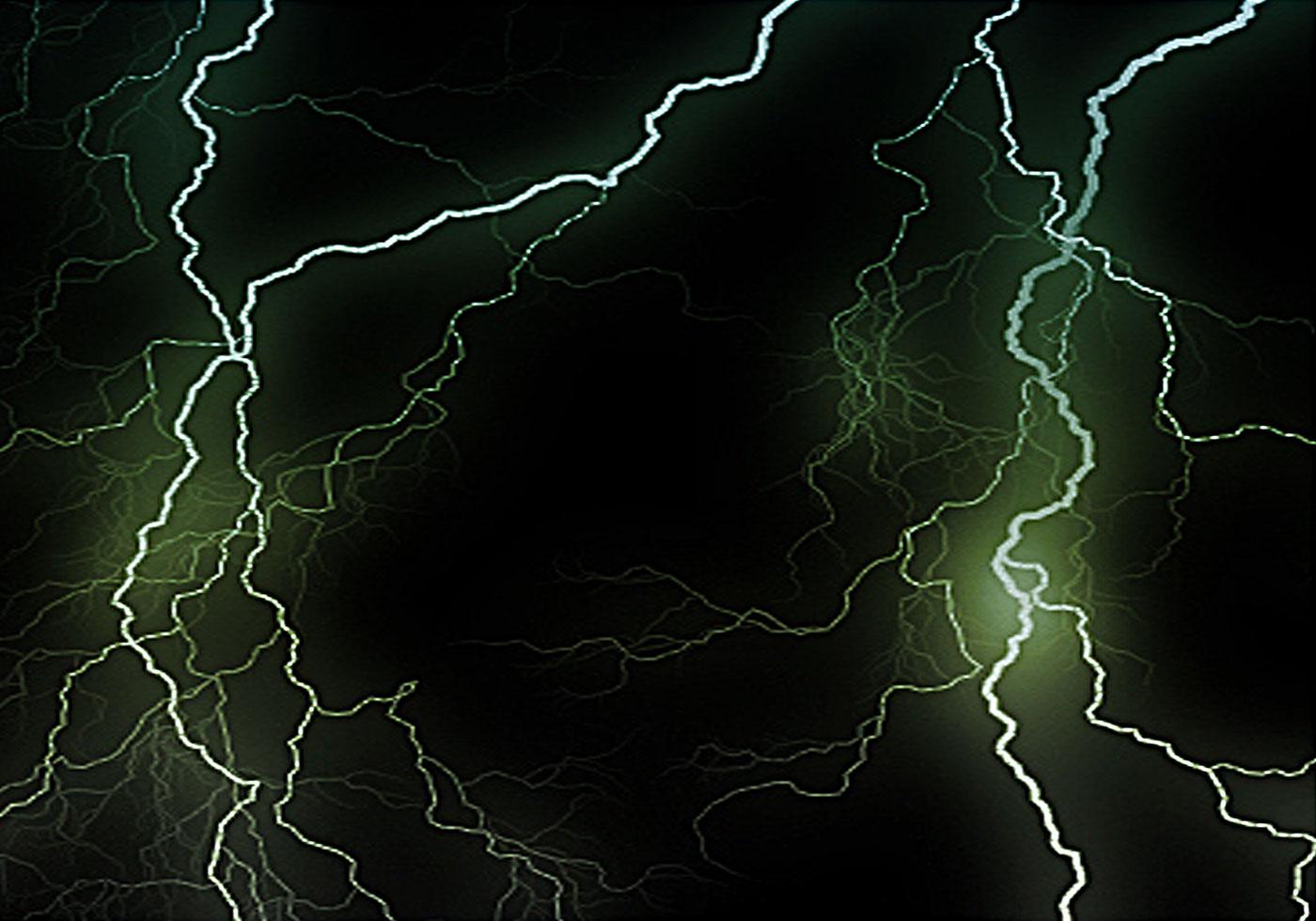 Lightning Brushes - Photoshop brushes