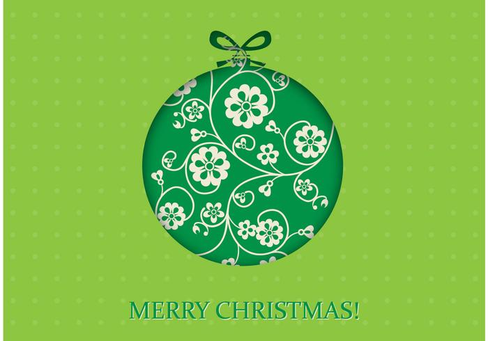 Green Christmas Wallpaper