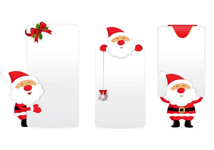Santa Tags and Labels PSD Pack