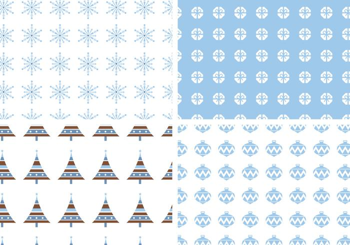 Seamless Holiday Pattern Pack