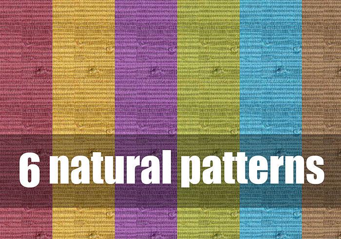 6 Natürliche Muster
