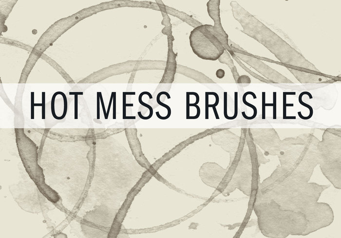 Hot Mess - Coffee Brushes