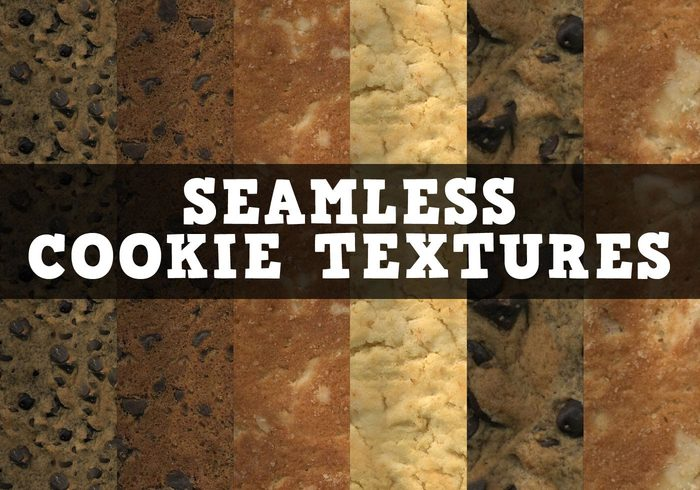 12 Naadloze en Heerlijke Koekie Texturen