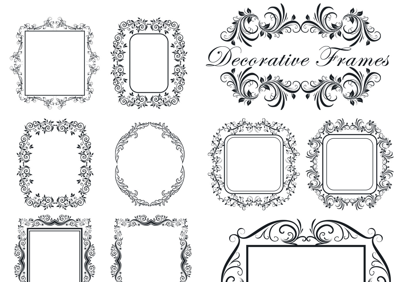 decorative frame brushes free photoshop brushes at brusheezy