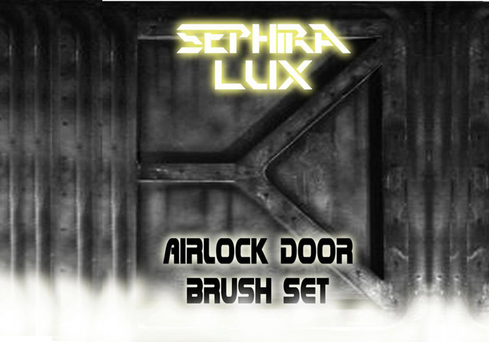 Airlock Door Brush Set (By Sephira Lux) & Airlock Door Brush Set | Free Photoshop Brushes at Brusheezy!
