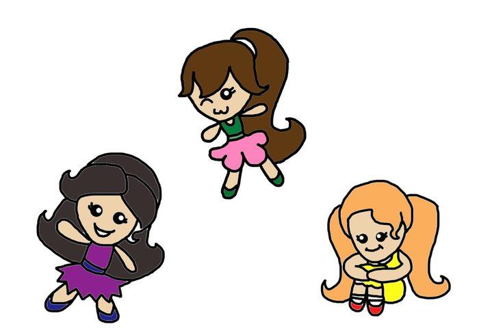 Pincéis do Doodle de Pixie
