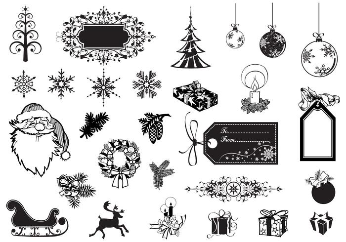 Holiday and Christmas Brush Pack