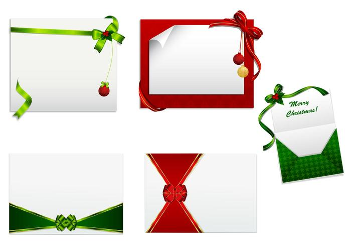 Kerstkaart PSD en Brush Pack