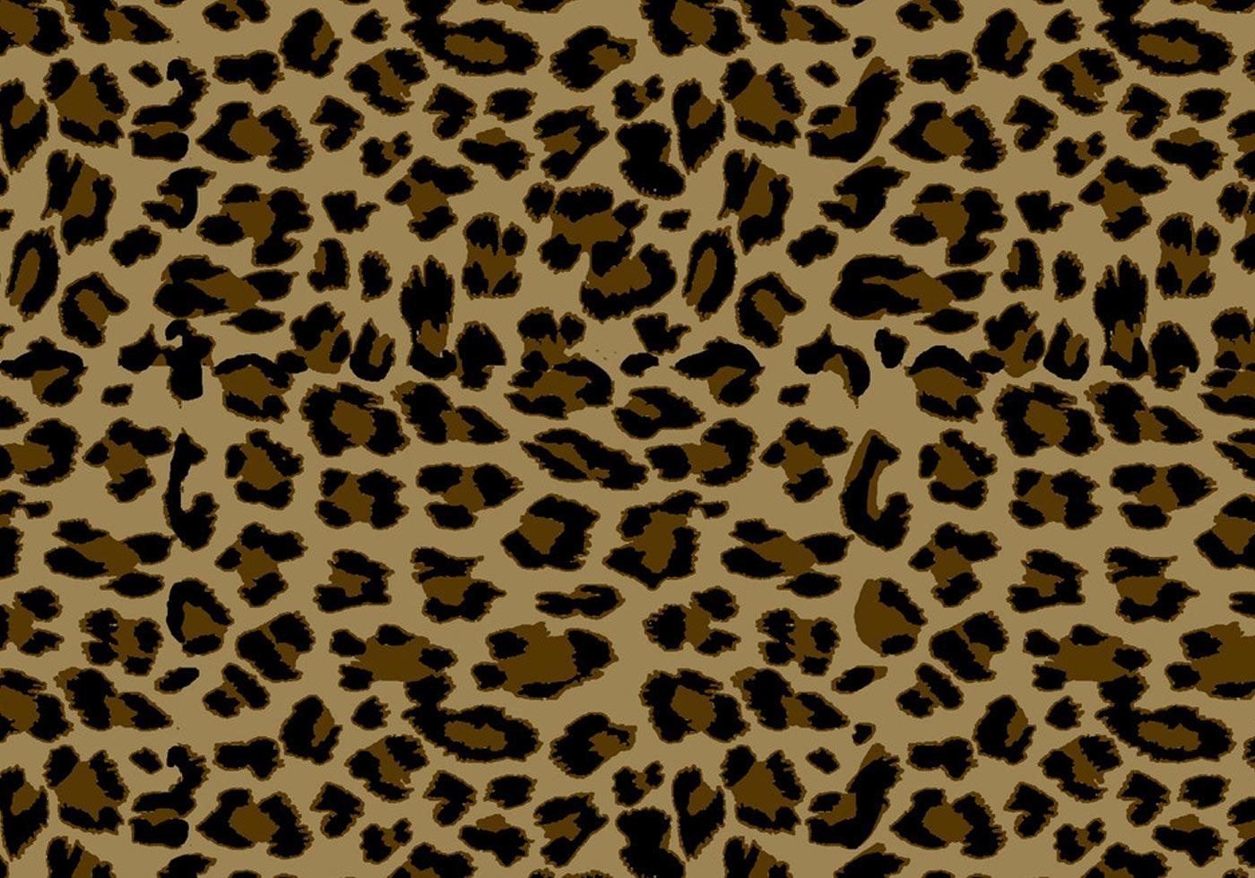 Leopard print pattern illustrator
