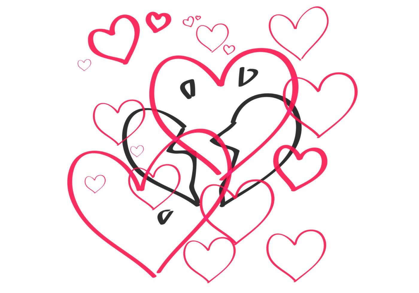 Pack de cepillos corazones   ¡Pinceles gratis de Photoshop en Brusheezy!