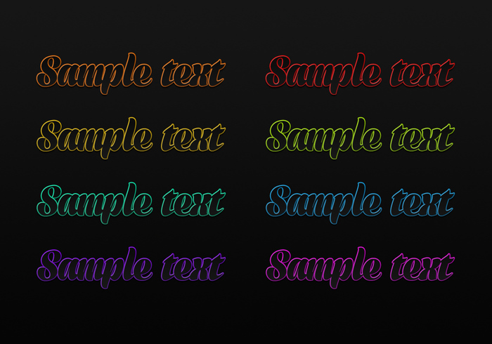 Kitch Multicolor Photoshop Styles
