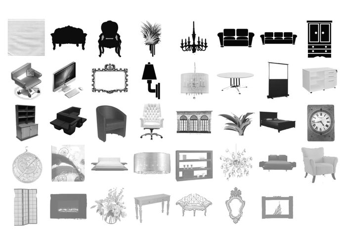 Furniture Brushes Set