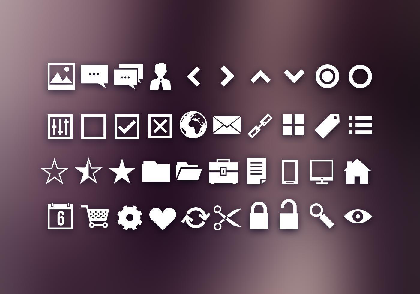40 ui icons shapes free photoshop shapes at brusheezy. Black Bedroom Furniture Sets. Home Design Ideas