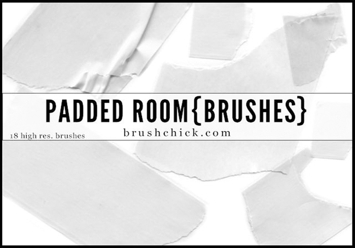 Padded Room Tape Brushes