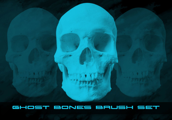 Ghost Bones Brush Pack Camisole Bilder