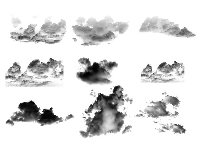 cloud photoshop brushes