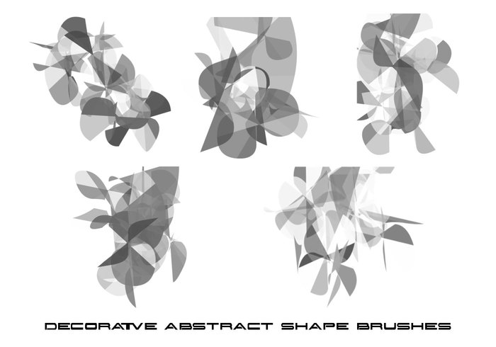 Shapes #5 Photoshop Brushes