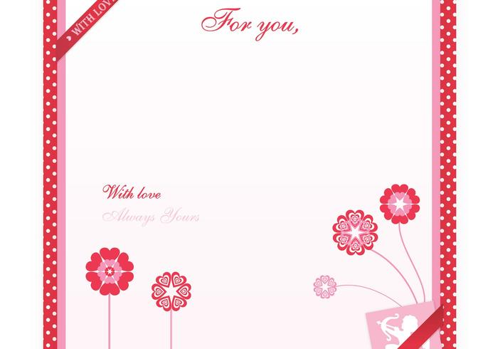 Valentine S Day Love Letter Wallpaper Brush And Pattern Pack