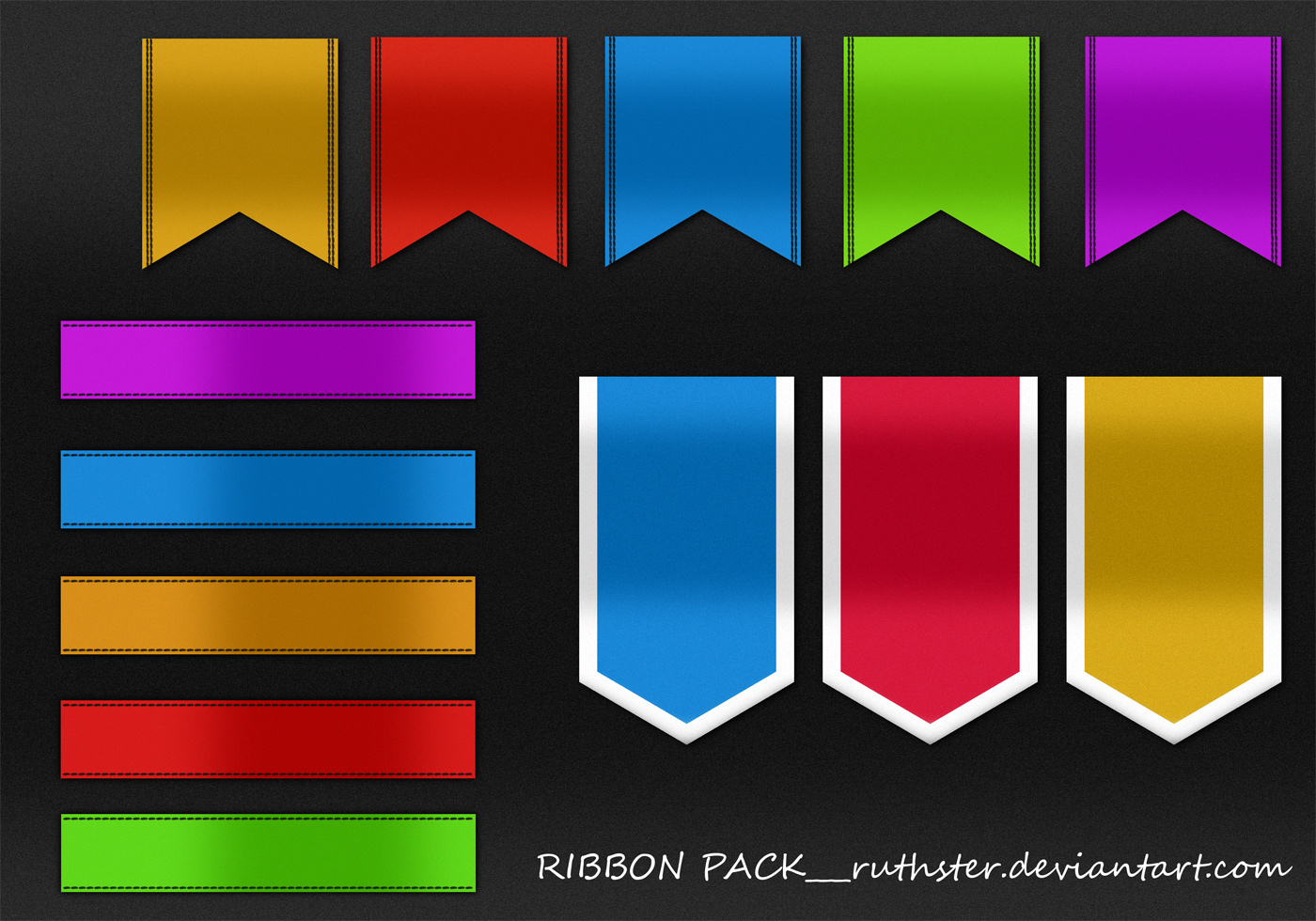 Banner Ribbon Brushes