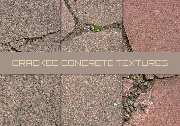 16 Cracked Paving Textures
