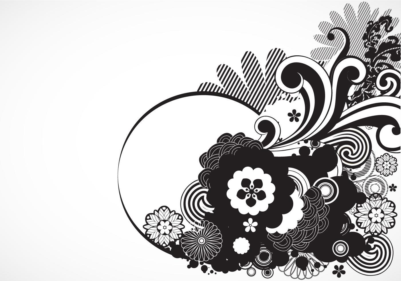 simple swirl vector - HD1400×980
