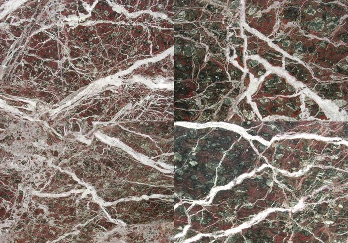 Dramatic Marbled Texture Veins