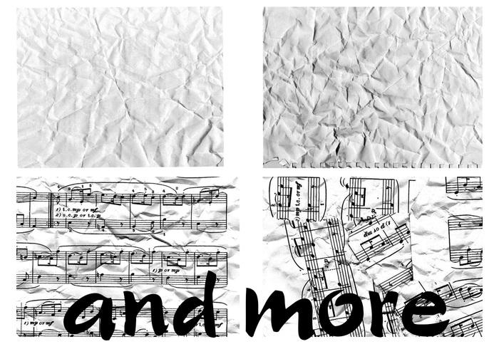 Textures froissées