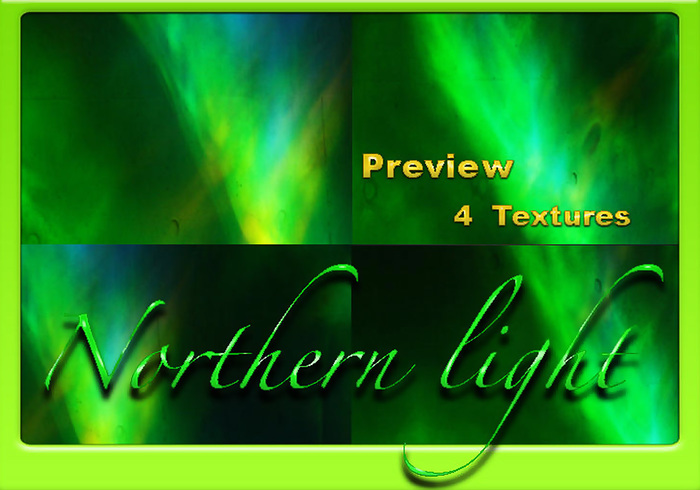4 Northern Light Textures