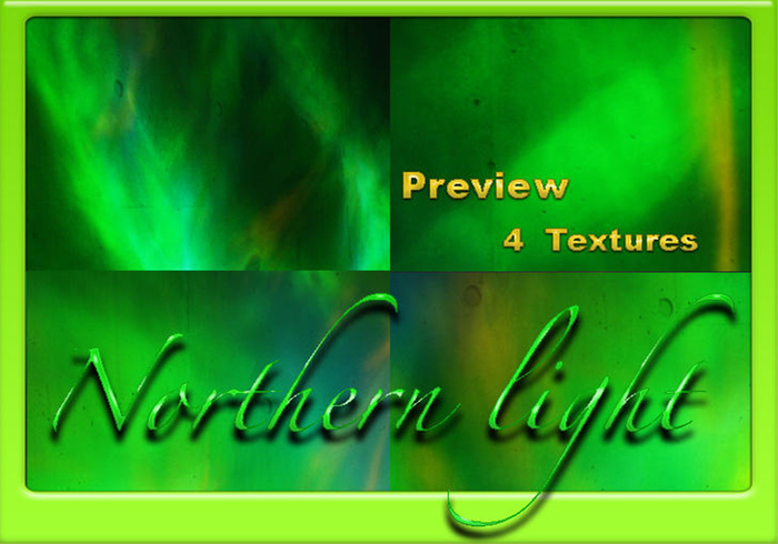4 Northern Light Textures 2
