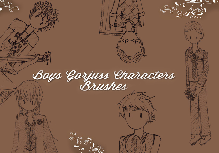 Gorjuss Boys Brushes