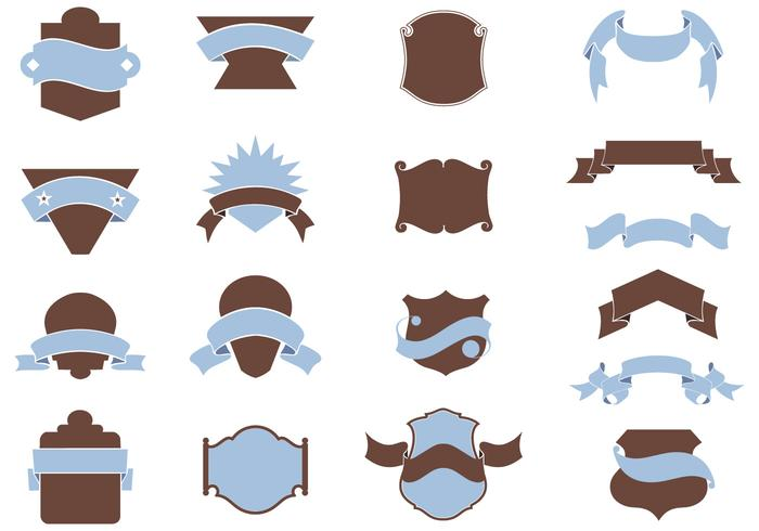 Heraldry Shield Brushes Pack