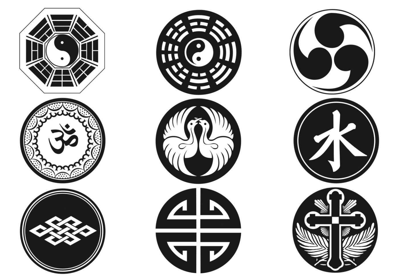 Religious Symbols Brush Pack - Free Photoshop Brushes at Brusheezy!