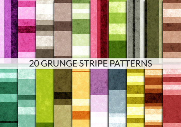 Grunge Stripe colorful seamless tiles