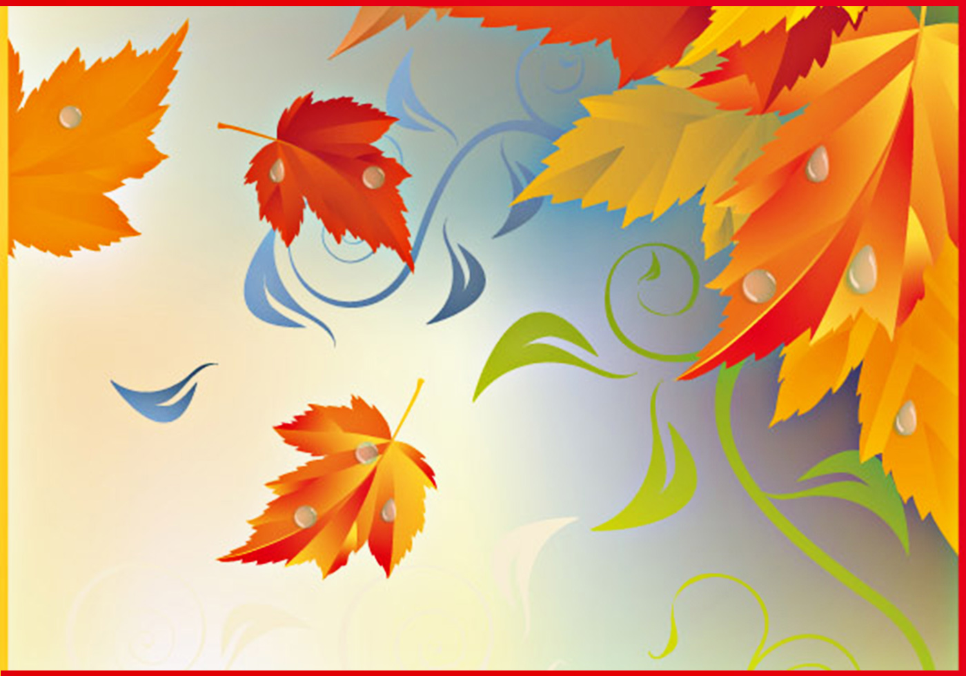fall leaves background free background at brusheezy