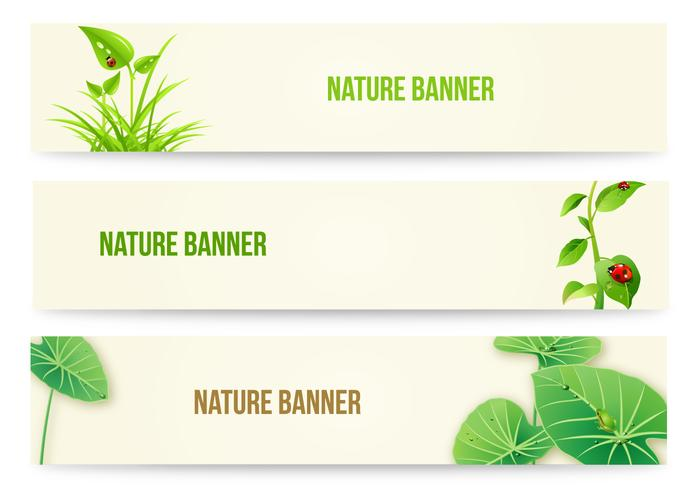 Natuur Banner Wallpaper Pack