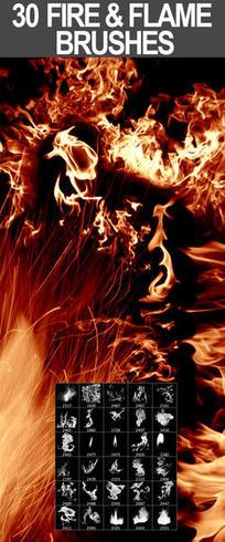 30 Fuego y Llama Cepillos (Promo)