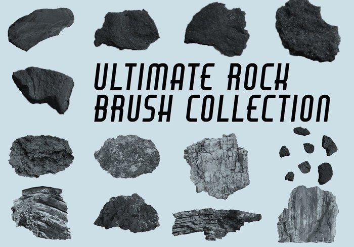 Collection Ultimate Rock Brush